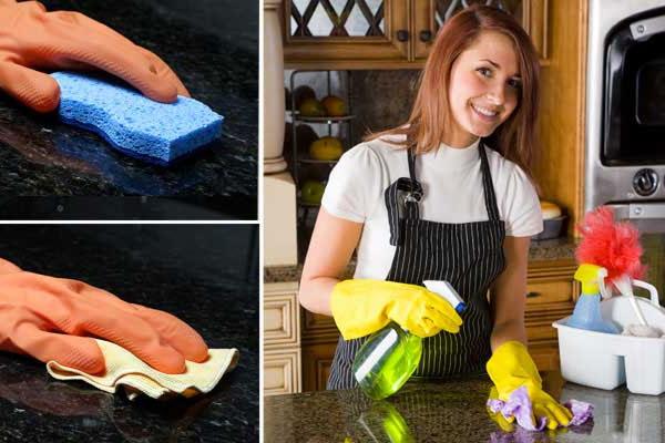 se vad som ingår vid köksrengöring