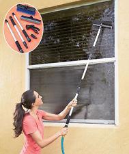 putsa utsidan av dina fönster säkert